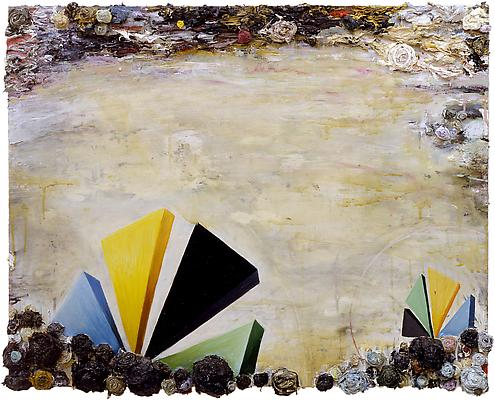 Phillip Allen, 'Deep North (Academy Version)', 2003,  oil on board. Image courtesy Kerlin Gallery