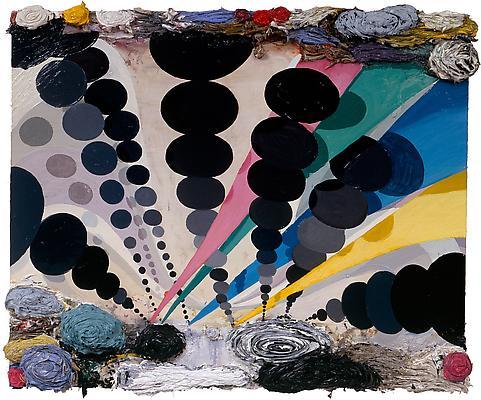 Phillip Allen, 'Tifosi', 2005, oil on canvas. Image courtesy Kerlin Gallery.