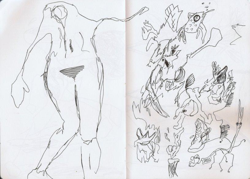 Artist's block? Try idea generator no 1: automatic drawing – kelise