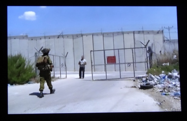Screenshot from Yoav Gershon's 'Eight Hour Shift', mock-umentary, 17 minutes. Image courtesy Kelise Franclemont.