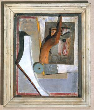 Kurt Schwitters, 'Relief in Relief', 1942-5. Image courtesy www.tate.org.uk