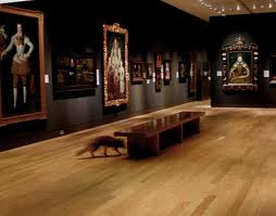 Tudor room at National Portrait Gallery. Image courtesy of artangel.co.uk