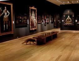 Tudor room at National Portrait Gallery. Image courtesy of artangel.co.uk