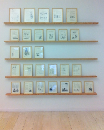 Ruth Goddard, 'A persistent history', 2011-12, graphite on paper, in 'Conflicted Memory' at Alan Cristea gallery. Image courtesy Kelise Franclemont and Alan Cristea gallery.