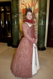 Elisabeth de Valois, as styled by Alexander Connatty for 'In Fine Style' costume show at Queen's Gallery, Buckingham Palace.