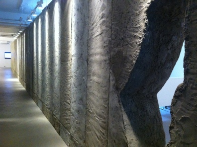 View of 'Whole in the Wall' exhibition at Ayyam Gallery, London. Image courtesy Kelise Franclemont.