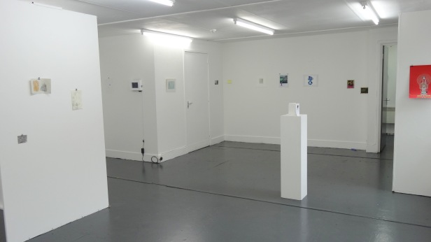 Installation view of '2013 Drawing Show' at Wimbledon College of Art. Photo credit Kelise Franclemont
