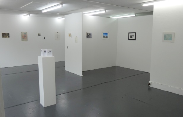 Installation view of '2013 Drawing Show' at Wimbledon College of Art. Photo credit Kelise Franclemont.