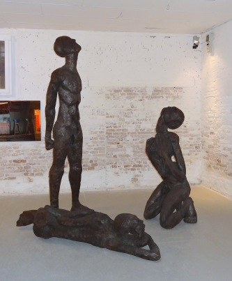 Work by xxx in Cote d'Ivoire pavilion, participating for the first time in the 55th Venice Biennale.