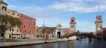 View of Arsenale, Campo de Fixxx