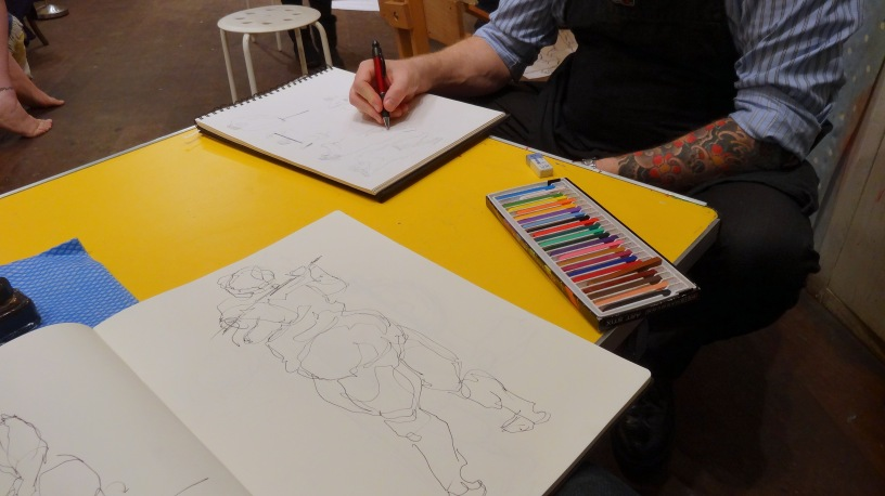 Where can I practice life drawing in London? Meetup com has