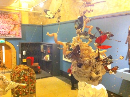 Installation view of 'Victoriana' at Guildhall Art Gallery, London. Photo credit Kelise Franclemont.
