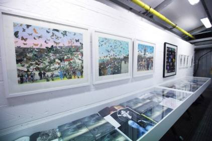 Installation view of 'Edition#1', Edge of Arabia, London. Image courtesy Edge of Arabia.