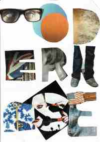 Kelise Franclemont, 'modernise (1)', 2014, collage and glue. Image courtesy Kelise Franclemont.