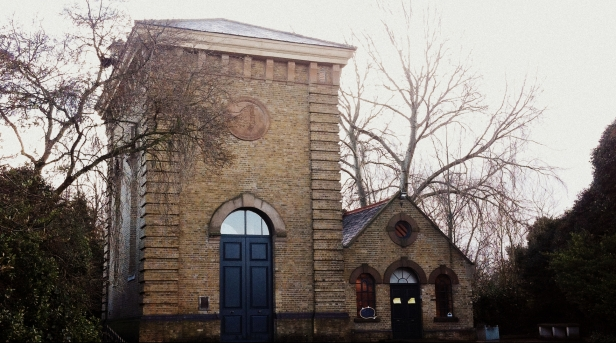 The Pumphouse Gallery, Battersea Park, London. Photo credit Kelise Franclemont.