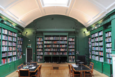 Paul Mellon Centre library. Image courtesy Paul Mellon Centre for Studies of British Art