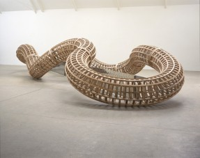 Richard Deacon, 'After', 1998, wood, at Tate Britain, London. Image courtesy artfund.org