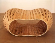 Richard Deacon, 'Keep the Faith', , wood. Image courtesy http://inspiredbynaturalforms.blogspot.co.uk