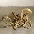 Richard Deacon, '...or lose it', 2006, steamed ash wood. Image courtesy invaluable.com