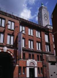 Exterior view of Bargehouse at OXO Tower Wharf, Southbank, London. Image courtesy SquareMeal.co.uk