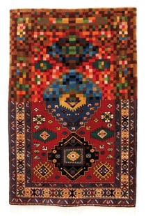 Faig Ahmed, 'Tradition in Pixels', 2011, woollen hand-woven carpet.