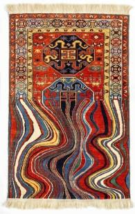 Faig Ahmed, 'Oiling', 2012, woollen hand-woven carpet.