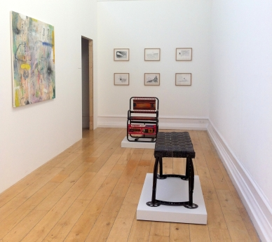 Installation view of 'Welcome to Iraq' at South London Gallery, London. Photo credit Kelise Franclemont.