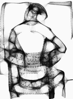 Kelise Franclemont, 'artist painting', 2011, digital media (Sketchy).