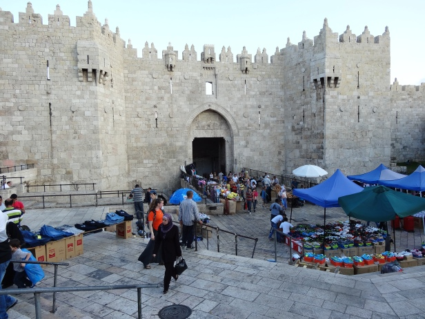 Damascus Gate, Old City Jerusalem. Photo credit Tom Butler.