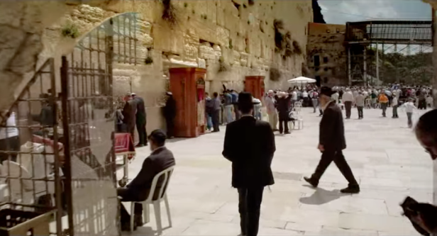 View of the Western Wall, Jerusalem in 'Jerusalem 3-D', , 2013, documentary film, 45 mins. Image courtesy National Geographic.