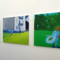 Antonia Jackson, BA Fine Art - Painting, 2014 at Wimbledon College of Art, London. Photo credit Kelise Franclemont.