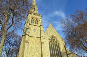 St Saviour's Church, St George's Square, Pimlico. Image courtesy colinspics.org