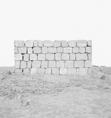 Ursula Schulz-Dornburg, from 'Palmyra. Necropolis.' series, 2010, gelatin-silver print, in 'My Sister Who Travels' at Mosaic Rooms, London. Image courtesy the artist.
