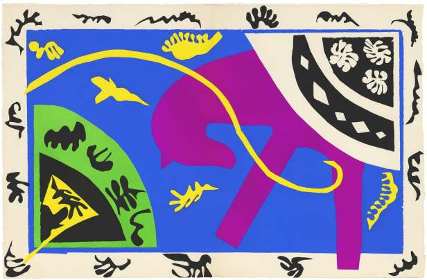 Henri Matisse, 1943-4, 'The Horse, the Rider and the Clown. Image courtesy www.artfund.org
