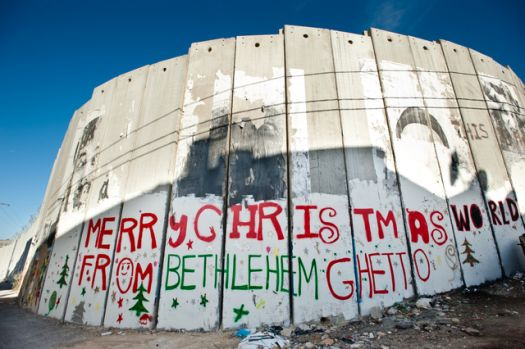 A view of The Wall in and around Bethlehem, West Bank, Palestine, 24 December 2013. Image courtesy AustraliansforPalestine.net
