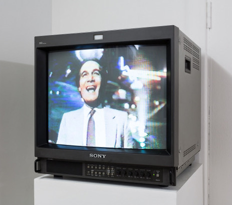 Raed Yassin, 'Disco', 2010, DV cam, colour, sound, 5 min 30 sec, in 'Whose gaze is it anyway?' at the ICA, London. Photo credit Mark Blower.