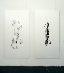Anna Hussey, 2014, in 'Assembly' at Chelsea College of Arts, London.