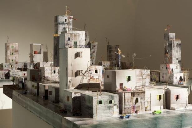 Wafa Hourani, 'Qalandia 2067', 2008, installation. Image courtesy theredlist.com
