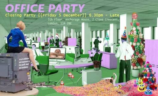 Click to enlarge view/download Office Party Invite for 5 December 2014.