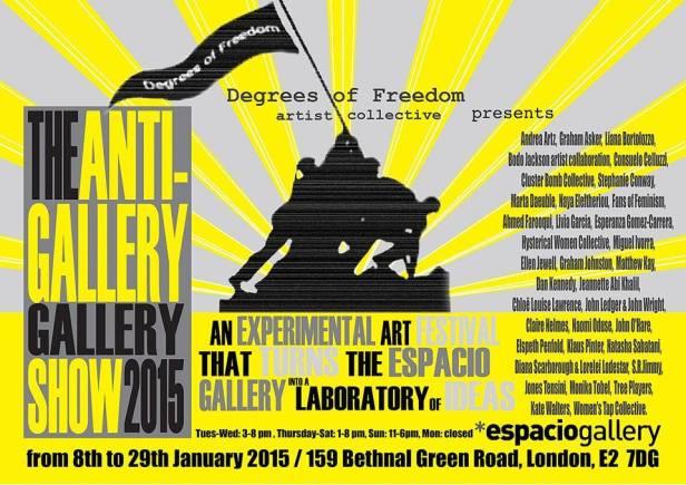 2015 01Jan08-15 Anti-Gallery Show Espacio
