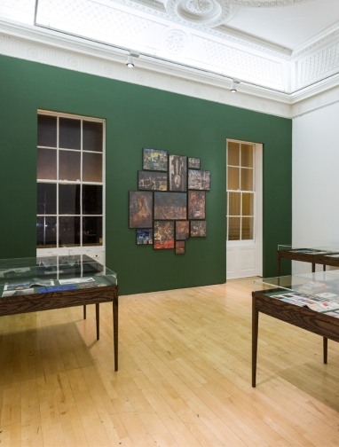 Dor Guez, installation view of 'The Sick Man of Europe', 2015, at the ICA, London. Image courtesy the artist and the ICA.