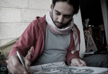 Amer Shomali, film maker and director of 'The Wanted 18'. Image courtesy http://www.wanted18.com/