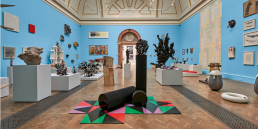 Installation view, Lecture Room in Summer Show 2015 at Royal Academy of Arts, London. Photography: John Bodkin, DawkinsColour. Image courtesy Royal Academy of Arts.