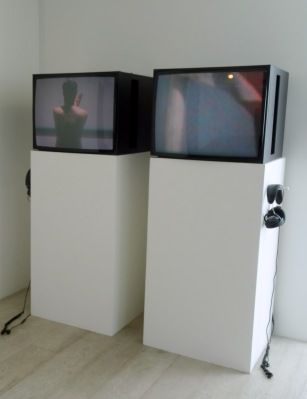 Anas al-Shaikh, 'My land, 2', 2009, video installation in 'Echoes and Reverberations' at Hayward Gallery Project Space, Southbank Centre London. Photo credit Kelise Franclemont.
