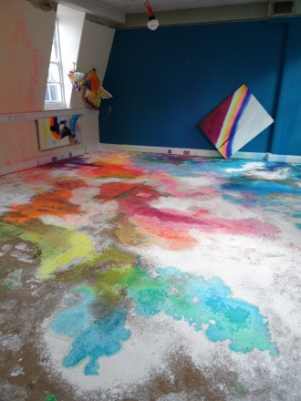 Installation by Hannah Campion. Photo credit Kelise Franclemont.