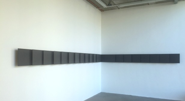 Lesley Foxcroft, installation view in 'Corners' at Chelsea Space, Millbank, London. Photo credit Kelise Franclemont.