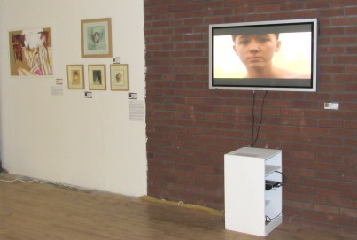 Installation view of 'Identity' at AWAH, Altrincham (Greater Manchester). Image courtesy AWAH.
