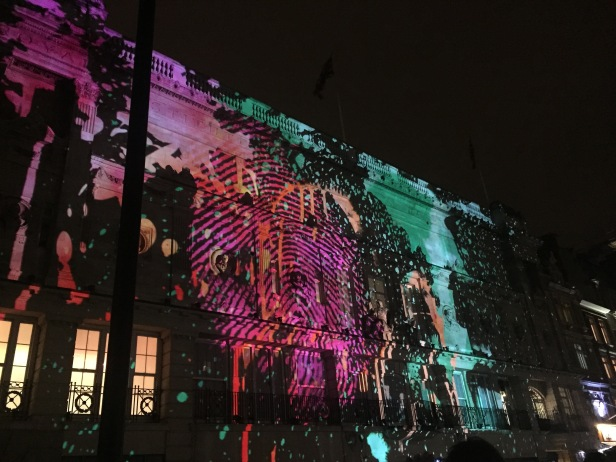 '195 Piccadilly', NOVAK, Lumiere light festival, Piccadilly, London. Photo credit Kelise Franclemont.
