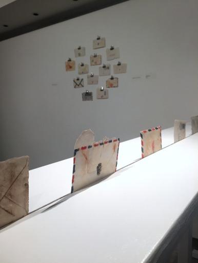 Ranjena Gohil, 'Muhabbat Karna', 2015, ceramics, in 'Jerusalem/Home' at P21 Gallery, London. Image courtesy the artist and P21 Gallery. Photo credit Kelise Franclemont.