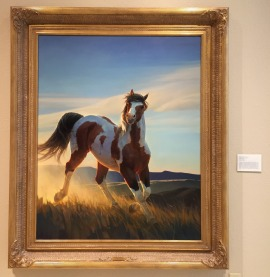 Nancy Glazier, 'Audacious', 2000, oil on canvas, at Booth Western Art Museum, Cartersville, GA. Photo credit Kelise Franclemont.